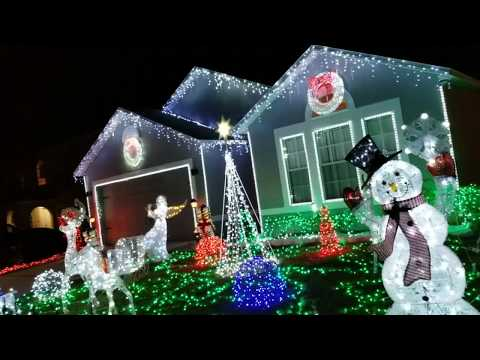 2018 Christmas lights Outdoor Decorations