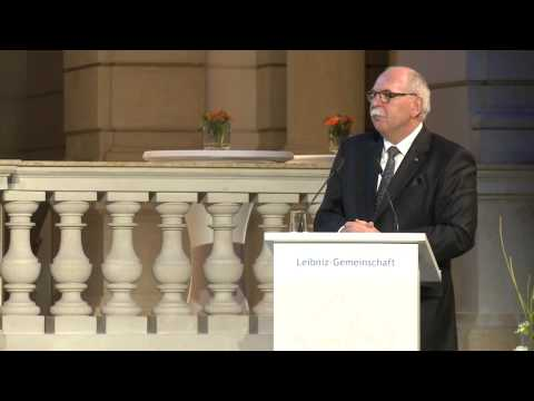 Leibniz-Jahrestagung 2014 - Festversammlung: Begrüßung