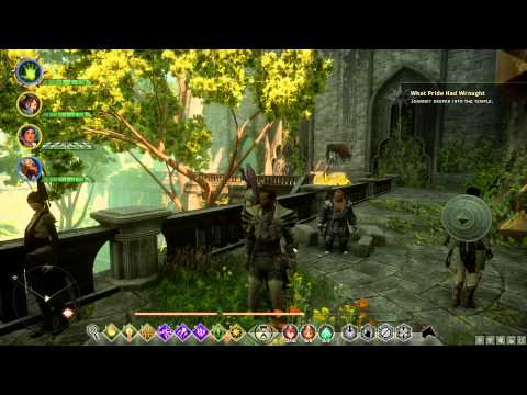 Dragon Age: Inquisition - What Pride Had Wrought, Walkthrough, Temple of Mythal,
