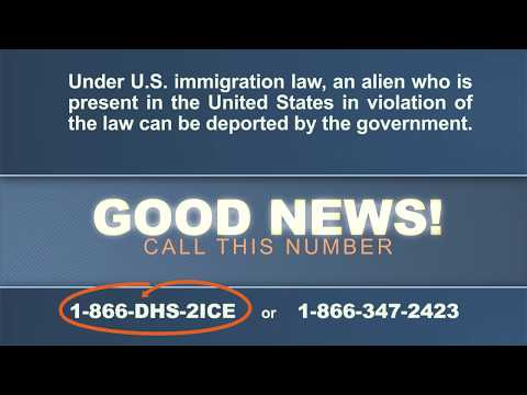 How to Report An Illegal Alien
