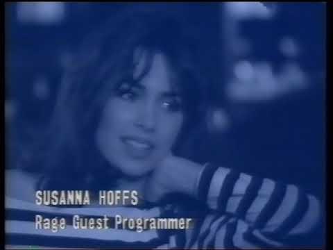 Susanna Hoffs - rage guest programming segments, 4-5 May 1991