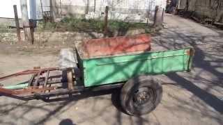 прицеп самосвал для мотоблока своими руками Homemade  trailer  Walk Behind Tractor(прицеп самоскид для мотоблока Группа ВК http://vk.com/kulibincom Подключение партнерской программы http://join.air.io/leshaone..., 2014-03-28T22:16:59.000Z)