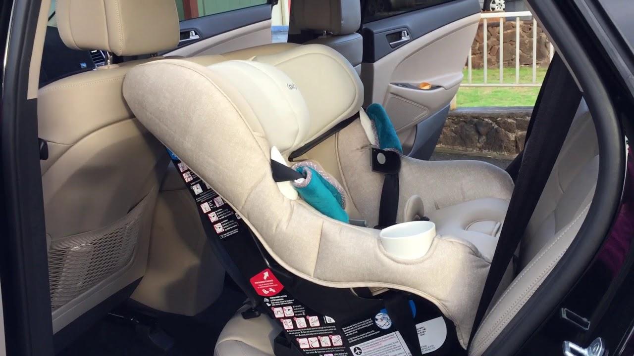 3609db74993 Maxi Cosi Pria 85 Max Convertible Car Seat in Compact SUV - YouTube