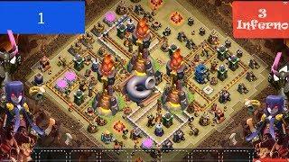 clash of clans ▶️top 20 part 2▶️ TH 12war base ▶️new update 2018⤵️