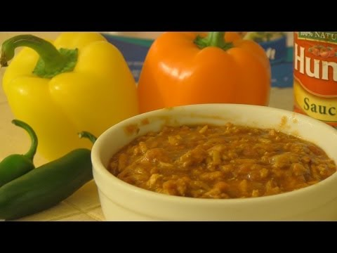 High Protein Muscle Mass Building Poultry Chili Recipe
