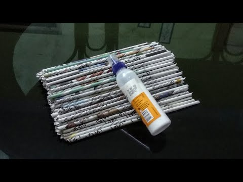 3 Useful Things You Can Make With Newspaper / DIY Newspaper Craft