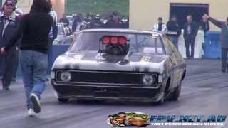 WILD BUNCH DRAG RACING SYDNEY DRAGWAY 22.6.2013