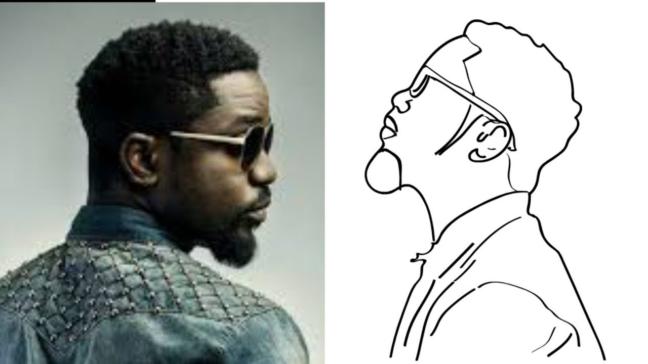 Drawn Images Of Sarkodie