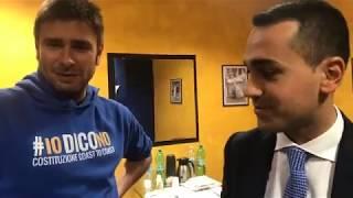 Alessandro Di Battista e Luigi Di Maio (M5S) ora una sorpresa !!!