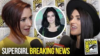 Supergirl Casts Nicole Maines as TV's First Trans Superhero | First Reactions at Comic Con 2018