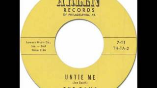 THE TAMS - Untie Me [Arlen 7-11] 1962