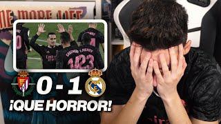 REACCIONES DE UN HINCHA Valladolid vs Real Madrid 0-1 *VAYA PARTIDITO...*