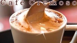 Receita de Café Cremoso - Completo