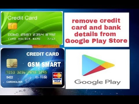 Remove Credit Card Debit Card And Bank Details From Google Play Store With Very Easy Method