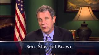 Sen. Sherrod Brown, (D) Ohio, asks you to become a foster parent.