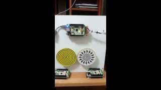 Dual Stepping Motor Controller Running Micro Step