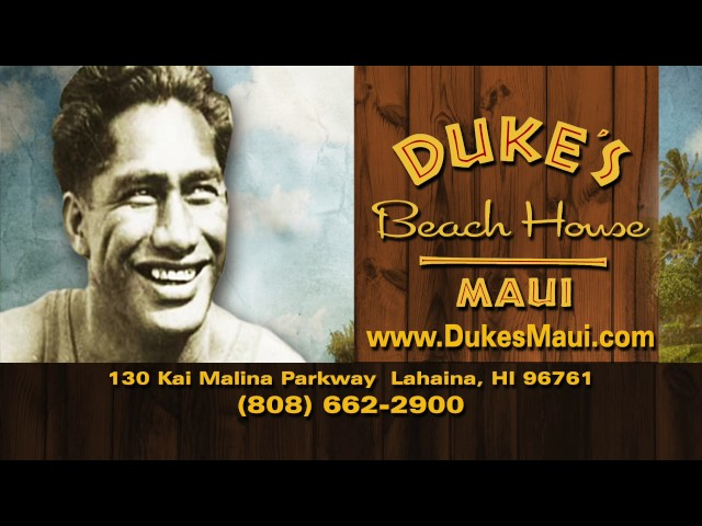 Duke's Beach House Maui - 808-662-2900