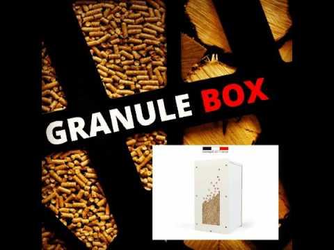 rangement pellets et buches de bois youtube. Black Bedroom Furniture Sets. Home Design Ideas