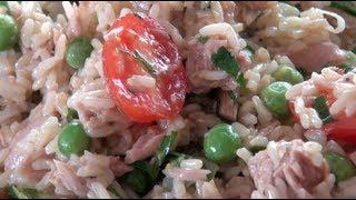 Tuna Rice Salad - Nicko's Kitchen