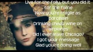 Fairweather Friend Lyrics~ Vanessa Carlton