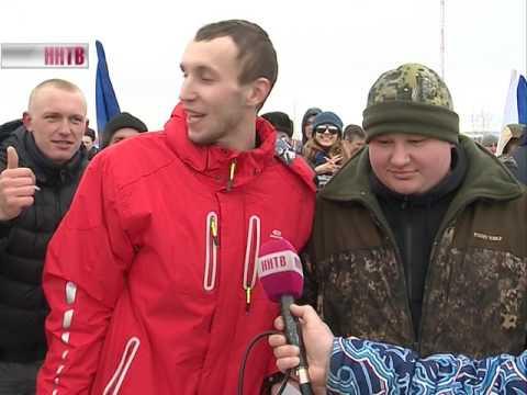 Традиционные гонки по случаю Дня защитника отечества в Лукоянове прошли уже в 12-ый раз