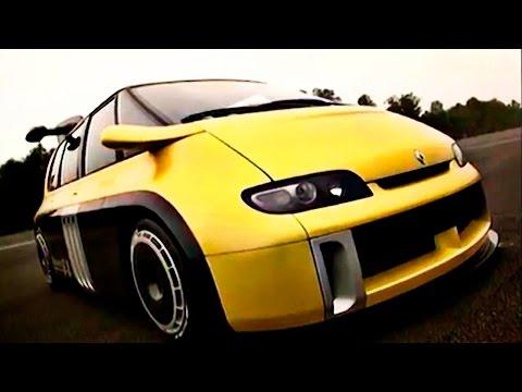 Минивэн 90 х быстрее Bugatti Veyron Самый быстрый автомобиль, разгон до 100 Renault Espace F1