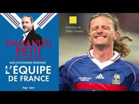 """Interview d'Emmanuel Petit sur son livre """"Mon dictionnaire passionné de l'Equipe de France"""""""