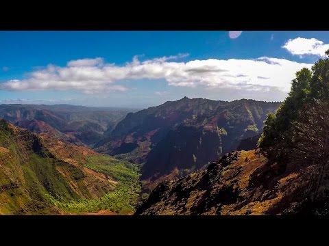 Waimea Canyon Trail to Waipoo Falls / Waimea Canyon State Park, Kauai