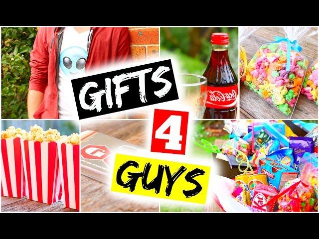 DIY Gifts For Guys! DIY Gift Ideas for Boyfriend, Dad, Brother, Partner, Friends, Valentine