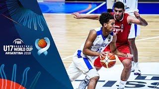 Dominican Republic v Egypt - Full Game - Class 9-16 - FIBA U17 Basketball World Cup 2018