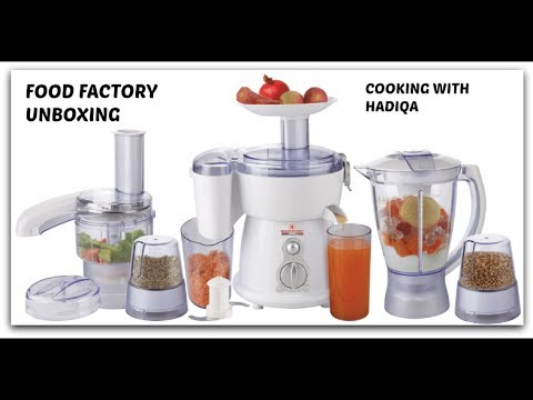 My Food Factory Unboxing/Anex kitchen robot unboxing ( Cooking With Hadiqa )