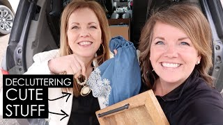 Decluttering Decor: The cryṡtal clear sign it's time to go!