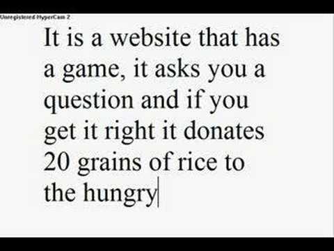 Free rice!!!!