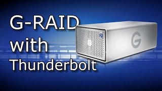 G-RAID with Thunderbolt #YNA :  For professional content protection