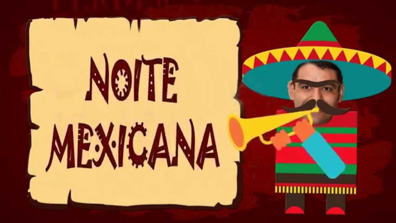 Convite Noite Mexicana ADOLEGAL - YouTube a69b12373be