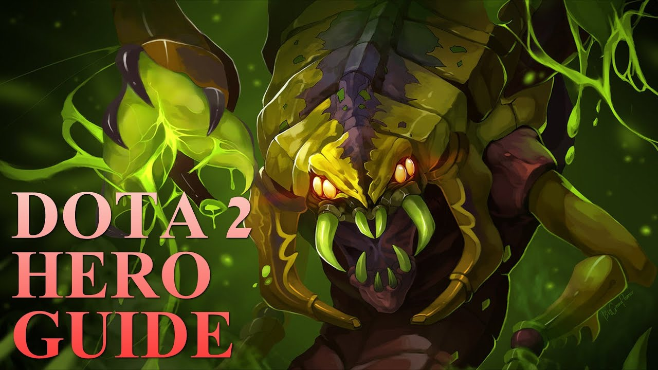 dota 2 hero guides venomancer youtube