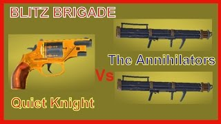 Blitz Brigade PC Windows | Stealth Quiet Knight | Bridgeman Vs The Annihilator Gameplay Video