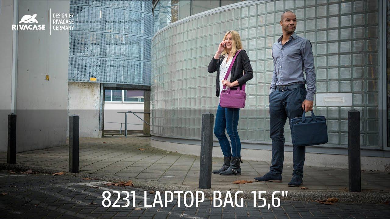 43c7bc270b10 RIVACASE 8231 purple Laptop bag 15,6