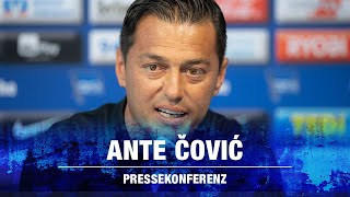 TRAINERVORSTELLUNG ANTE COVIC - Hertha BSC