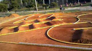 Hot lap at HCRCR - New R/C Off Road Racing Track in Henry County Ga.