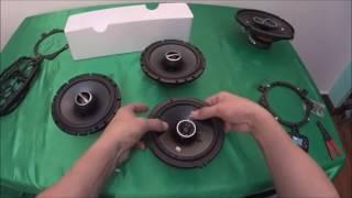 """Kicker DS65 6.5"""" Coax Speakers VS Alpine SPS-610 6.5-Inch 2-Way Type-S"""