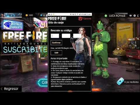 codigo de free fire