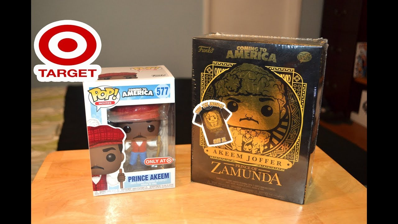 cb98c30bca7 Target Exclusive COMING TO AMERICA McDowells and GOLDEN PRINCE AKEEM Funko  Pop review   unboxing!