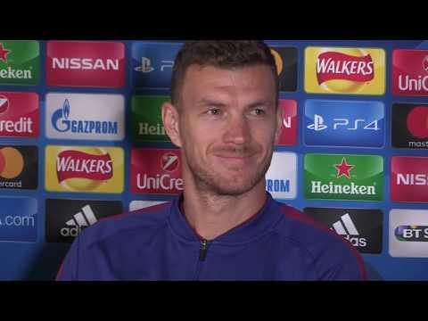Dzeko: I'm a better striker now than at Man City