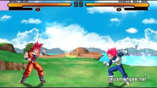 DragonBall Z New Final Bout 2 Mugen Gameplay