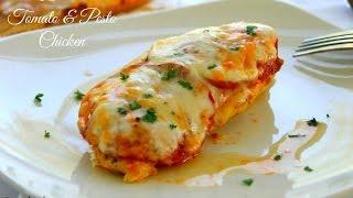Tomato and Pesto Chicken