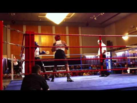 Ricardo Slue (Fitzroy) v Tyrone Williams (Balham), London Senior ABA Finals