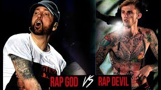 SATANIC AGENTS 😈 feud... EMINEM / MGK - what they don't want u to know!