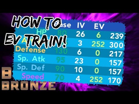 Pokemon Brick Bronze - HOW TO EV TRAIN! (Best Places)