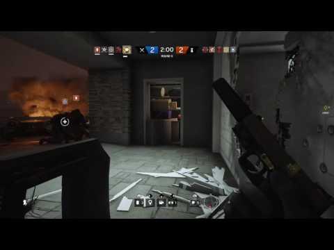 Wallbang Headshot w/Blitz - R6 Siege